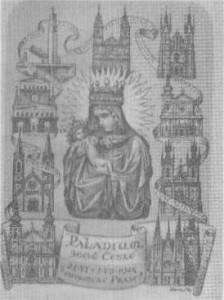 Cesta Palladia v Praze 1945
